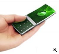 Nokia aeon phone concept - future mobile phones will include Wibree (Credit: Nokia)