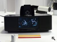 wide-screen-radio (in the background Edifier Rainbow wireless speakers)
