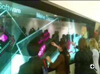 T-Mobile's multi-touch screen - ala Minority Report