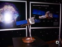 Scale model of Chandra X-Ray Observatory on display at NASA's future forum