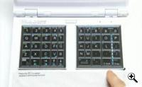 Noahpad  - Touchpad/keyboard interface