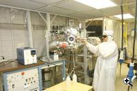 Prototype of the semiconductor processing equipment that may lead to commercial manufacturing tools for future generations of silicon chips (Credit: Clemson University)