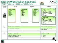 AMD 2010 Server roadmap (Credit: AMD)