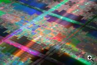 Intel's Tukwila chip (Credit: Intel)