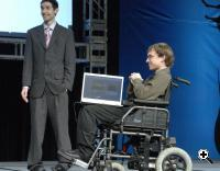 Audeo Could Enable the Handicapped to Control their Wheelchair (Credit: Texas Instruments)
