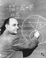 Photograph of Enrico Fermi from 1950 (Credit: The National Archives and Records Administration)