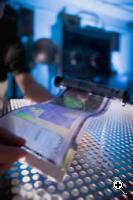 The Flexible Display Center (FDC) at Arizona State University (ASU) focused on advancement of full color flexible display technology and flexible display manufacturing to the brink of commercialization. (Credit: The Flexible Display Center, ASU)