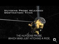 in this NASA eClips video you can discover three topics NASA is currently developing. The Cassini-Huygens is a spacecraft NASA sent to check out Saturn. (Credit: NASA)
