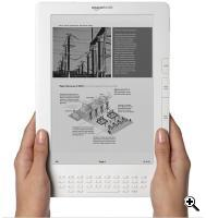 Kindle DX E-Reader (Credit: Amazon)