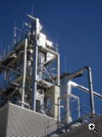 A pyrolysis plant used during bioliq fuel production (Source: Markus Breig)