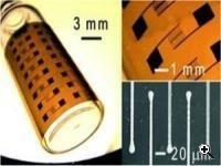 Nanoparticle ink has been developed that could make flexible printed electronics and solar cell arrays much easier to generate. (Source: University of Illinois at Urbana-Champaign)