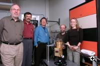 The international research team who developed the compact terahertz-radiation superconducting source (Credit: Argonne National Laboratory/ George Joch).