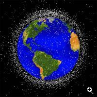 Space debris (Credit: NASA)