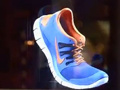 c54a49cbfc21 Nike Launched A Holographic 3D Advertising Campaign - TFOT