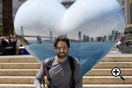 Sergey Brin with Google Glass and a Canon 5D MKIII (Credit: Chris Chabot)