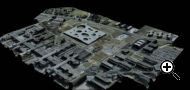 New software from EPFL spinoff Pix4D automatically generates 3D models from aerial photos. (Credit: EPFL)