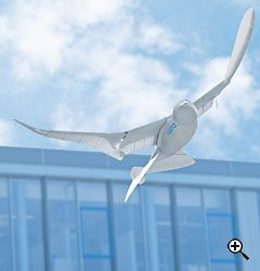 SmartBird drone designed by the engineers at Festo and modeled explicitly on the herring gull (Source Wired.com)