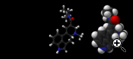 The chemical structure of LSD.