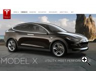 Tesla Motors Model X - Electric SUV