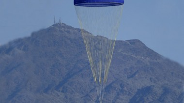 Ares Super-Chute Tests