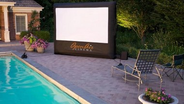 CineBox Home Backyard Theater System