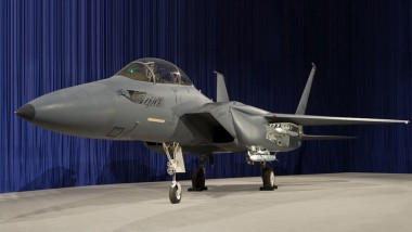 Boeing's New Stealth F-15