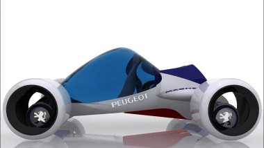 Peugeot Magnet Uses Magnetic Energy