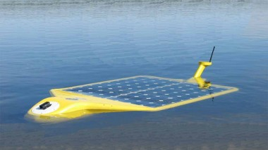 The Solar Powered Under Water Robot