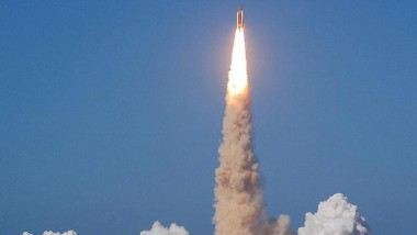 NASA STS-124 Mission Takes Off