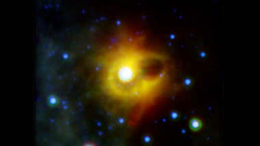 Strange Ring Found Circling a Dead Star
