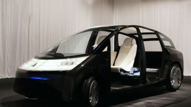 Toyota Plans 1/X Seaweed Car