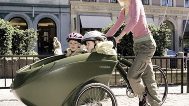 TrioBike – Carrier-Pushchair Combined