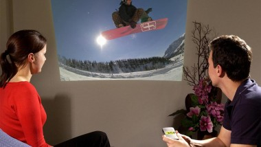 iPhone Sized Pocket Projector