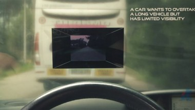 Augmented Reality Makes Vehicles Transparent