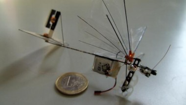 Flying Dragonfly Robot