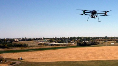 Helicopter UAV Designed for Digital Photography
