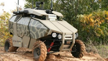 Future Robotic Squadrons to Patrol Military Bases