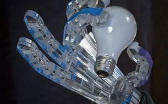 Robotic Hand Operated By Compressed Air