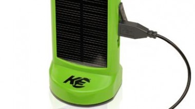 Portable Charger Utilizes Both Wind and Sunlight