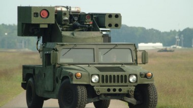 Boeing Tests Avenger Solid State Laser Weapon