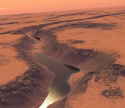 Evidence of Ancient Lake on Mars