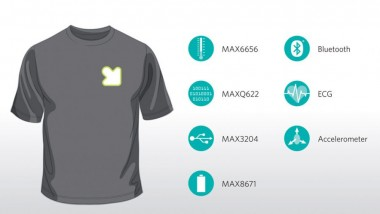 FIT T-shirt Will Monitor your Health Wirelessly