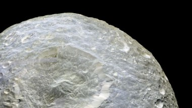 Herschel Crater on Mimas of Saturn