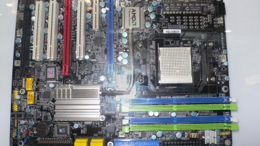 A Look Back at CeBIT 2008: Motherboards