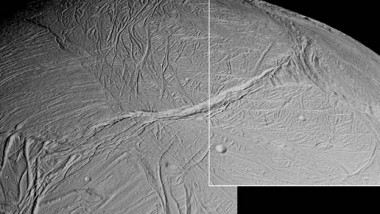 How Saturn's Moon Got Its Stripes