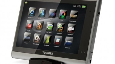 Toshiba's Touch Multimedia Tablet