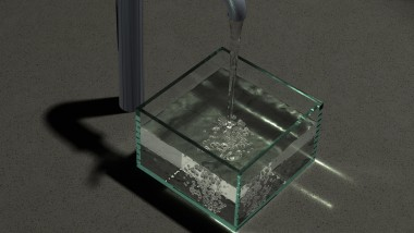 Modeling the Sound of Water