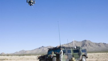 Flying Beer Keg UAV Deploying to Iraq