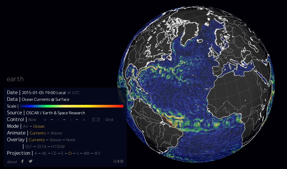 earth, ocean currents, weather conditions