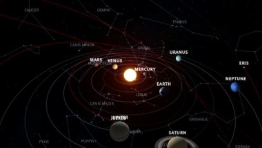 INOVE Solar System Wallpaper is Out of This World